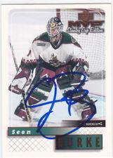 Sean Burke Signed Autographed Hockey Card Phoenix Coyotes 1999-00 UD MVP