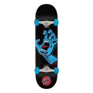 "Santa Cruz Skateboard Complete Board Screaming Hand 8.0 "" (Black)"