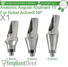 Anatomic Angular Abutment 15 For Nobel Biocare Active Hex Np Dental Implant