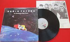 Spanish Rock RADIO FUTURA **La canción de Juan Perro** 1987 LP Venezuela