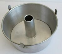 "MIRRO 5394M Aluminum 2-pc Bundt /Tube /Angel Food 10"" Cake Pan with Cooling Legs"