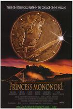 PRINCESS MONONOKE MOVIE POSTER  Original SS 27x40 HAYAO MIYAZAKI 1997