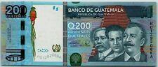 Guatemala 200 Quetzales 2009 (18.2.2009) *UNC* P-120 Banknote