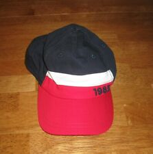 cc6066f8 Tommy Hilfiger 1985 hat baseball cap 8/10 yrs kids red white blue USA  patriotic