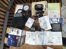 Sony hdr-xr520ve paquete de accesorios instrucciones OVP CD Otto factura de 2009 de cámara