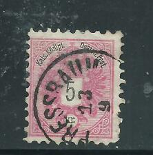 AUSTRIA used Scott 43 5kr 1883 Coat of Arms