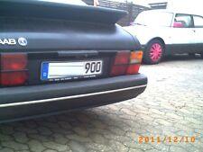 Saab 900 901 Chromzierleisten für alle Stoßstangenteile Komplett-set chrome trim