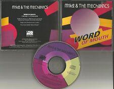 Genesis MIKE & THE MECHANICS Word of Mouth EDIT PROMO CD Single Paul Carrack 91
