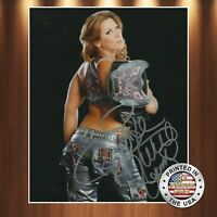 Mickie James Autographed Signed 8x10 High Quality Premium Photo REPRINT
