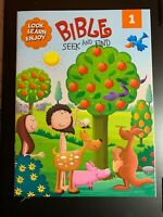 BIBLE SEEK AND FIND LOOK, LEARN & ENJOY FUN WORKBOOK FOR KIDS! NEW BOOK 1