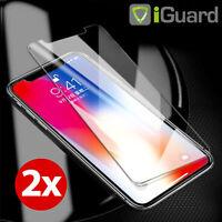 2x Schutzglas für Apple iPhone X XS 5.8 Glas Folie Echt Glas 9H Schutzfolie