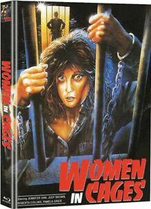 Women in Cages Blu-Ray + DVD Mediabook WMM Limited Edition Mediabook Pam Grier