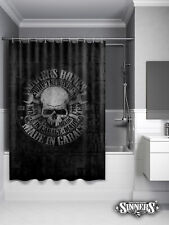 Biker Shower Curtain Harley-Davidson MADE in GARAGE