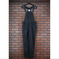 OLD NAVY Black Denim Overalls in Stowaway Wash Womens Size S