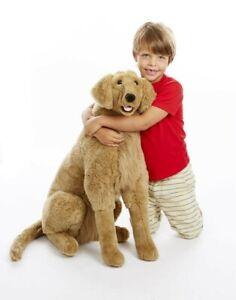 NEW Melissa And Doug - Golden Retriever - Plush from Mr Toys