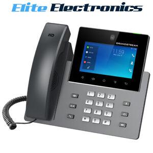 "Grandstream GXV3350 16 Line Android IP Phone 16 SIP Accounts 5"" Display"