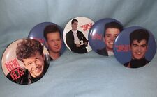 Nkotb large Buttons New Kids on the Block Joey Jordan Danny Donnie Vintage Pins