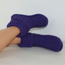 Stampato Maglieria instructions-alice's Boots adulto Ragazza Pantofole knitting pattern