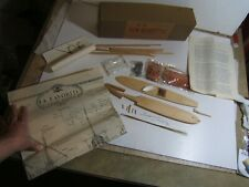 Vintage New Maquettes French 1688 Galley La Favorite Wood Hull Model Ship Kit