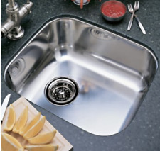 "BLANCO 440247 15"" Undermount Single Bowl Stainless Steel Bar and Vegetable Sink"