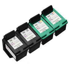 4 Combo Pack Ink Cartridges for HP 98 95 Officejet 100 Mobile L411 150 6310 H470
