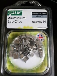 Greenhouse Z Lap Clips  50 Pack  Part No. GH002