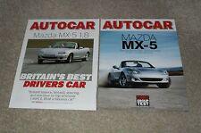 Mazda MX5 Autocar Reprint Brochures 2002