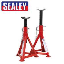 Sealey Caballetes Par - 2. 5t por Soporte doble Pin Seguridad 345mm-505mm ALTA