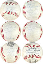 1966 New York Mets JSA Vintage Team Signed ONL Baseball Tug McGraw, Haddix Auto