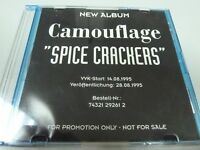 Camouflage –  Spice Crackers 1995  1ST  MEGAAAA  RARE GERMANY PROMO !!!! CD !