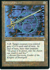 MAGIC THE GATHERING ICE AGE ARTIFACT CELESTIAL SWORD