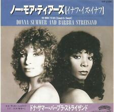 Donna Summer and Barbra Streisand - No More Tears Japan 7 inch vinyl single