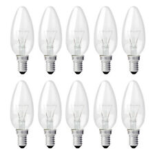10x Glühbirne Kerze gedreht 40W E14 MATT Glühbirnen Glühlampen Glühlampe 40 Watt