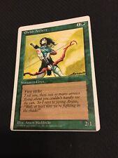 Magic The Gathering MTG Elvish Archers 4th Edition (Magic Cards)Singles MISPRINT