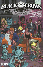 2017 BLACK CROWN QUARTERLY #1  ( 48-PAGE MATURE READERS ) IDW COMICS VF/NM