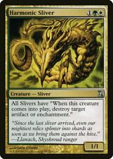 Harmonic Sliver Time Spiral HEAVILY PLD White Green Uncommon MAGIC CARD ABUGames