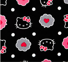 Thoughts of Love Bubble Hello Kitty allover 100% cotton Fabric by the yard
