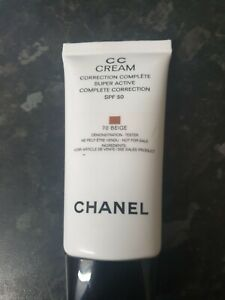 Chanel CC Cream correction complete super active spf 50. 70 beige.