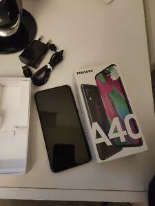 Samsung Galaxy A40 - 64Go - Noir (Désimlocké) (Double SIM)
