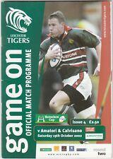 Leicester Tigers V amatori & CALVISANO 2002/3 (19 Ottobre) HEINEKEN CUP