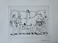MILO MANARA Picasso Suite 347 Series gravure Radierung acquaforte etching stampa