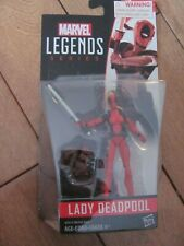 MARVEL Legends Series LADY DEADPOOL Figure 3.75 NEW