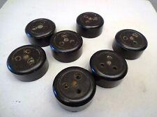 Vintage Electric Plug Socket Bakelite And Ceramic Khosla 5 Amp 250 V 7Pc Alfa