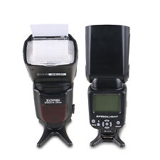 ZOMEI ZM430 Pro Manual Speedlite Flashlight GN56 for Canon&Nikon DSLR Camera