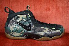 f62f541b182e7 CLEAN Nike Air Foamposite Pro Green Camo 587547-300 Size 11.5 Green Black