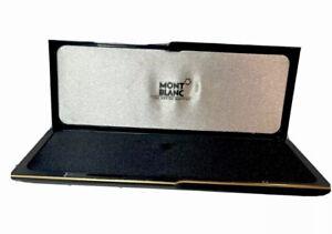 MONTBLANC Meisterstuck Original Resin Pen Case Vintage 1980's-1990's