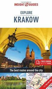 Insight Guides Explore Krakow (Travel Guide with Free by Insight Guides New Book