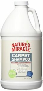Nature's Miracle Stain And Odor Remover Deep Cleaning Carpet Shampoo 64oz Bottle