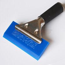 Blue Max Pro Squeegee W/ Handle Grip Window Film Tint Tools Rubber Water Scraper
