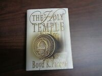 The Holy Temple by Boyd K. Packer (1980), Hardcover)  LDS